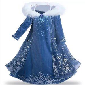 Elsa  Deluxe Snow Princess Adventure winter  Dress